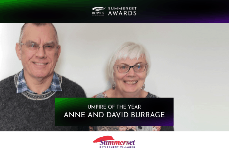 Congratulations to David & Anne Burrage