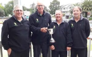 Centre Fours 2020 held at Raumati Bowling Club