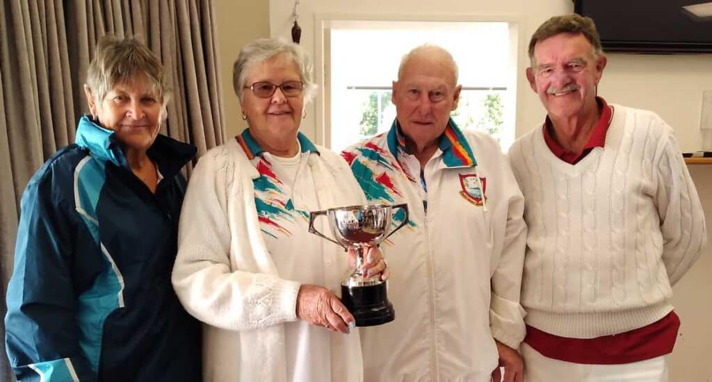 Pat Taylor in Winning team North Vs South Event